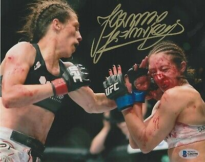 Numbered UFC Bobblehead Limited Joanna Jedrzejczyk MMA UFC Action Figures Fight Night Sports Memorabilia Handmade Limited Hand Painted
