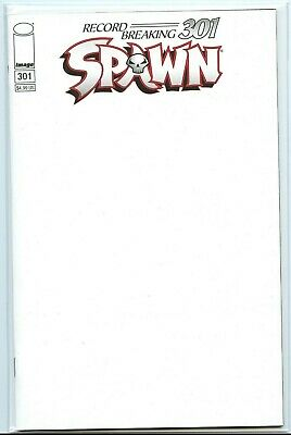 SPAWN #301 (2019) Todd McFarlane (BLANK Variant Cover) NM+ 9.6 or Better!