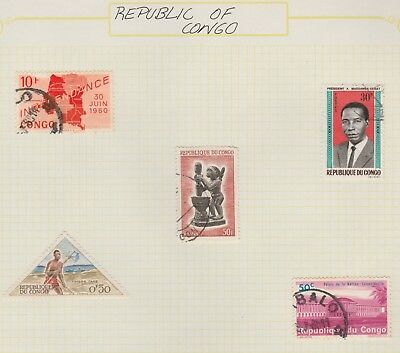 CONGO Collection Tax Independence President etc, as per scan, USED#