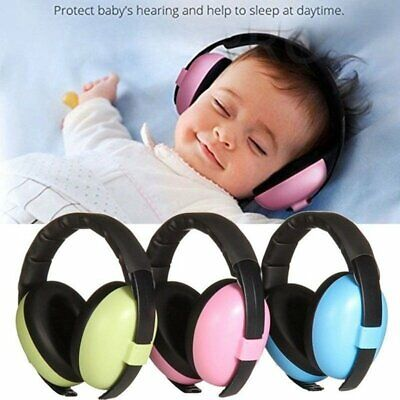Baby Kid Ear Defender Ear Muffs Earmuff Hearing Protection Noise Canceling Child