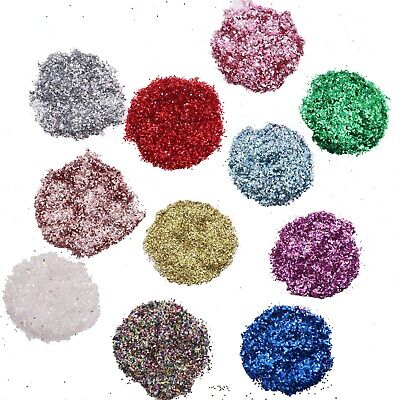 Glitter - 50g, 100g, 200g bags - Selection of Colours - Arts - Crafts  CHRISTMAS