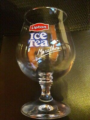 "6 verres Lipton Ice-Tea collection ""Marathon"" - Verre durobor"