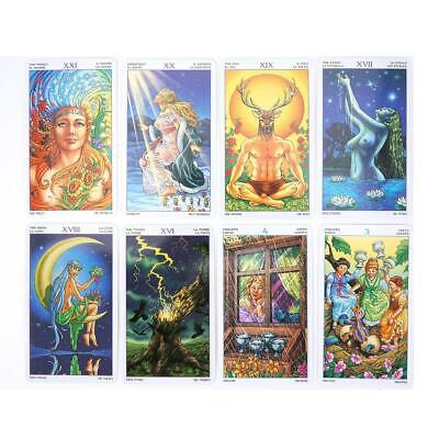 78X Wheel Of The Year Tarot Card Oracle Dancing With The Seasons Board Deck Game