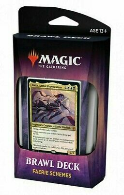 MTG Brawl Deck FAERIE SCHEMES Throne of Eldraine Magic the Gathering NEW SEALED