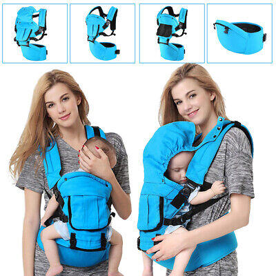 Ergonomic Strong Breathable Adjustable Infant Newborn Baby Carrier Backpack New