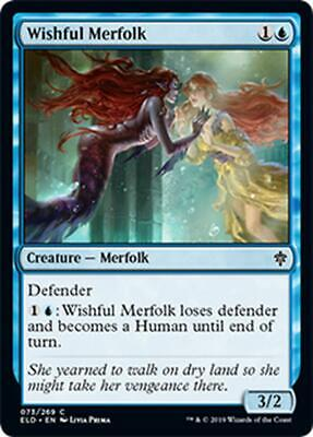 4x TRITONA DESIDEROSA - WISHFUL MERFOLK Magic ELD Mint