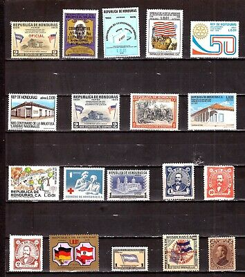 ZY931 HONDURAS 19 Timbres neufs : usages courants,sujets divers