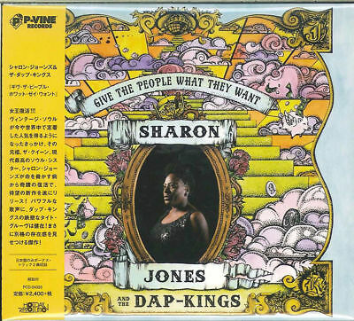 Sharon Jones & The Dap Kings-Give The People What They Want-Japan Cd F30