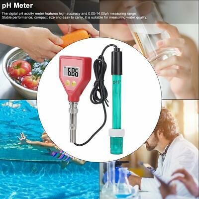 Portable Digital Acidity Meter pH Water Quality Tester High Precision Waterproof