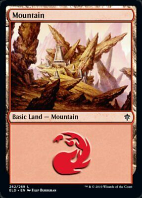 2x MONTAGNA - MOUNTAIN Magic ELD Mint