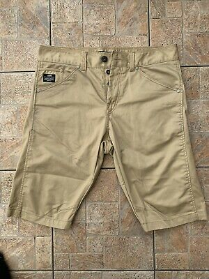 Mens Jack Jones Beige Shorts  - Perfect Conditon - Size 36 - Loose Fit Shorts