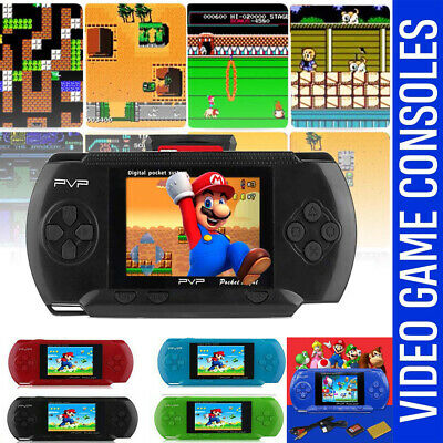 Handheld Portable Pvp 3000 Games Console Retro Megadrive Ds Video Game Uk Stock