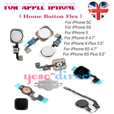 For iPhone 6 6S Plus 5 5C 5S Cable Seal Bracket Home Button Flex Replacement