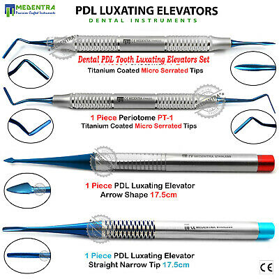 MEDENTRA® Surgical Elevators PDL Luxating Periotome Dental Extraction Instrument