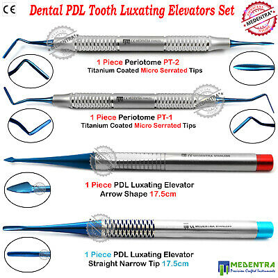 Dental Root Elevators Oral Surgery PDL Luxating Tooth Loosening Periotomes Ramge