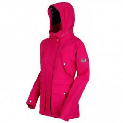 Regatta Women/'s Nadalia Lightweight Waterproof Jacket Natural