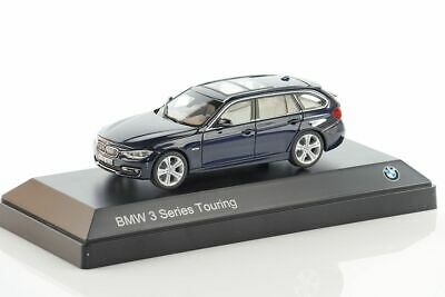 BMW 3 Series Touring (F31) dark blue 2012 1/43 80 42 2 244 254