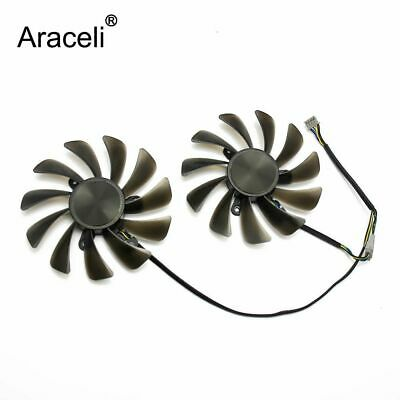 2pcs/set 95MM GAA8S2U cooler fan For ZOTAC GeForce GTX1070Ti GTX1080Ti AMP