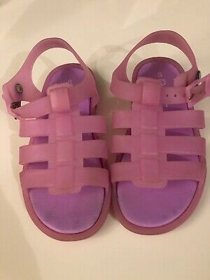 Next Girls  Jelly Sandals Size 8 Infant