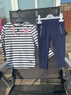Jasper Conran - J Jeans - 2 Piece Girls Outfit Age 18 - 24 Months