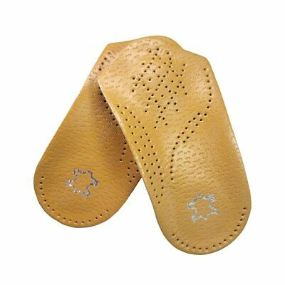Leather Orthotic Insoles For Flat Foot Arch Support Pain Relieve High Quality