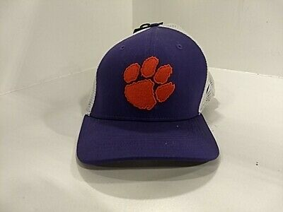 NIKE CLEMSON TIGERS University Meshback Purple Fitted Hat