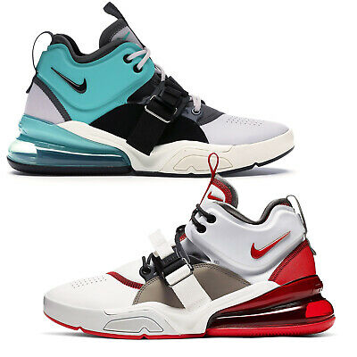 Nike Air Force 270 Mens Mid-Top Athletic Basketball Shoes Sneakers - Pick Size
