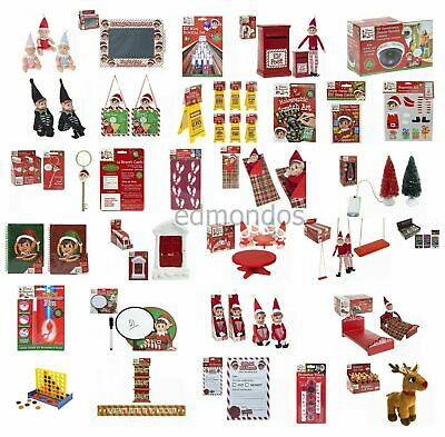 Elf Accessories Props Put On The Shelf Ideas Kit Games Toy Christmas Decoration