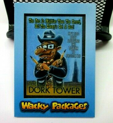 2018 Wacky Packages Go To The Movies Patch Card Mp-6 Dork Tower 33/99 Topps