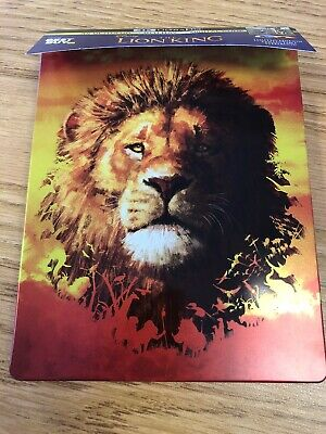 The Lion King (2019) Live Action Movie Steelbook ONLY