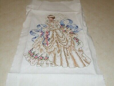 Completed Cross Stitch - Beautiful Bride