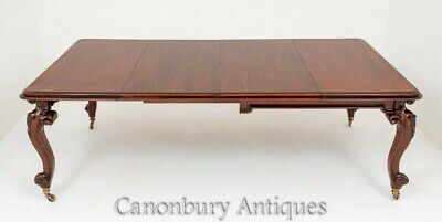 Victorian Dining Table - Extending Mahogany Antique 1860