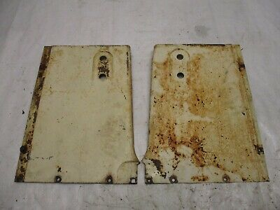 Case 400 Tractor Grill Side Panels