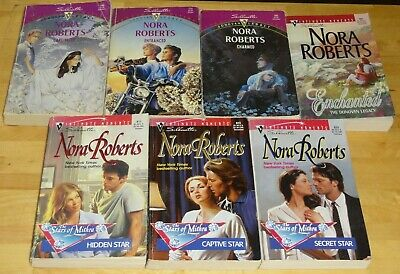 NORA ROBERTS The Donovan Legacy & Stars of Mithra Complete series 7 pb book lot