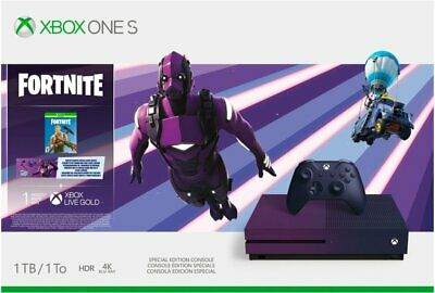 Xbox One S 23C-00080 Fortnite Battle Royale Special Edition 1TB Console NEW