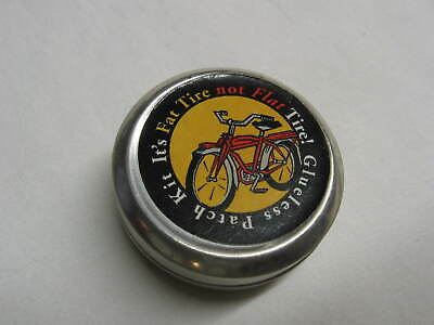 New Belgium Brewery Beer Fat Tire Logo Bicycle glueless tube patch kit bike tire