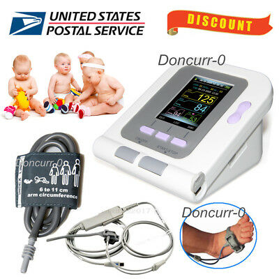 Born/Infant/Pediatric Blood Pressure Monitor Infant SPO2 PR Sphygmomanometer