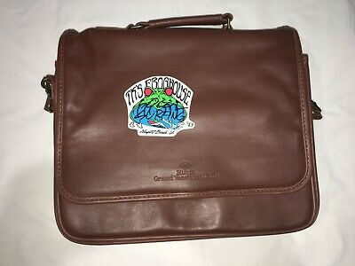Hilton Grand Vacations Club Synthetic Leather Laptop Bag 13 Inche Free Shipping