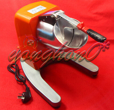 TH-168 Snow Cone Machine 65kg/h Commercial Electric Ice Shaver Crusher 220V