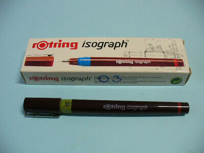 Isograph Rotring penna a china ricaricabile 03