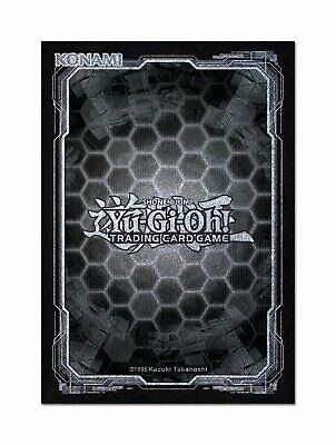Yu-Gi-Oh! Card Sleeves Dark Black + Silver (50) Konami Cases Cards Japanese