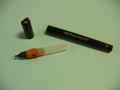 Isograph Rotring penna a china ricaricabile 04
