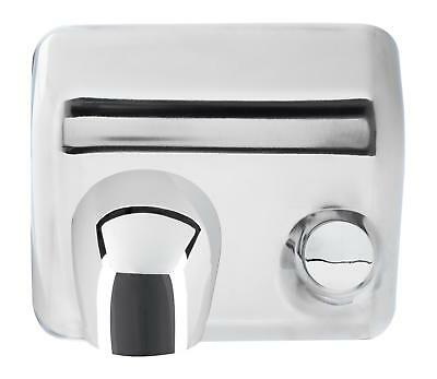 Automatic Hand Dryer Hot Warm Air High Speed Electric WallMounted Chrome Surface