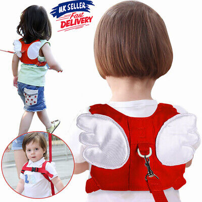 Baby Backpack Belt Anti-lost Toddler Reins Kids Safety Wing Harness Walking