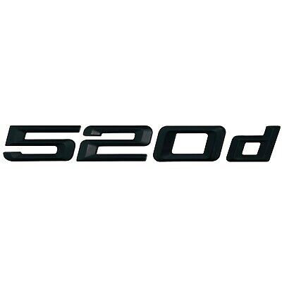Silver Chrome 535i Lettering Numbers Letters Rear Boot Lid Trunk Badge Emblem Compatible For 5 Series E93 E60 E61 F10 F11 F07 F18 G30 G31 G38