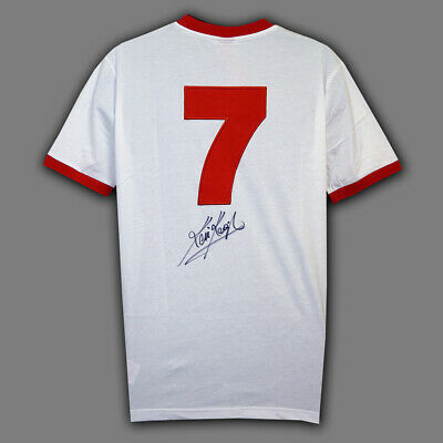 Kevin Keegan Hand Signed Liverpool No 7 Football Shirt