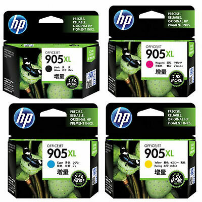 HP Genuine Original 905XL High Yield / Value Pack for Officejet 6950/6960/6970