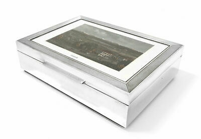 Solid 800 Swiss Silver Picture Box Zurich