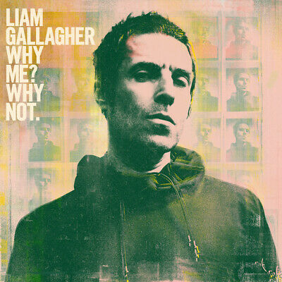 Liam Gallagher - Why Me Why Not. 2 Album Cover Poster Giclée