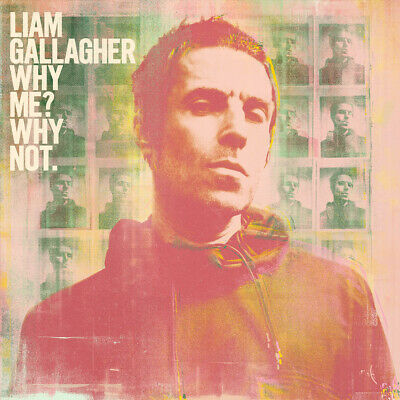 Liam Gallagher - Why Me Why Not. Album Cover Poster Giclée